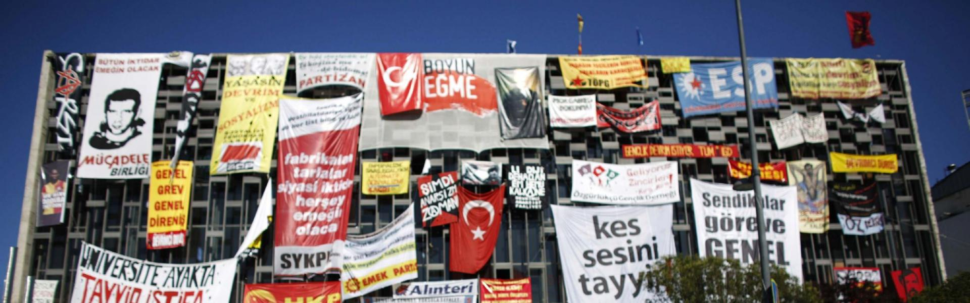 Ataturk Cultural next to Gezi Park near Taksim Square in central Istanbul June 10, 2013. (Reuters)