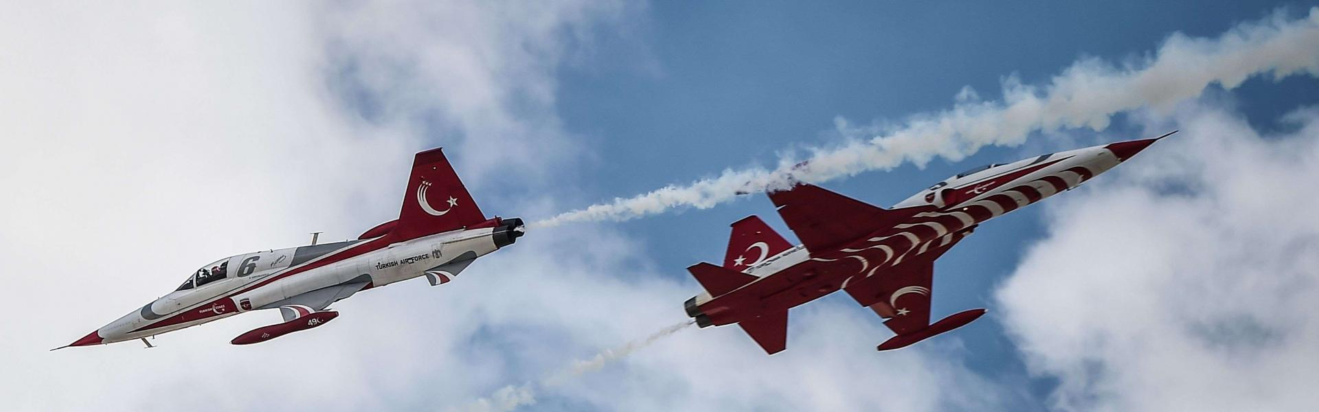 Turkish jets